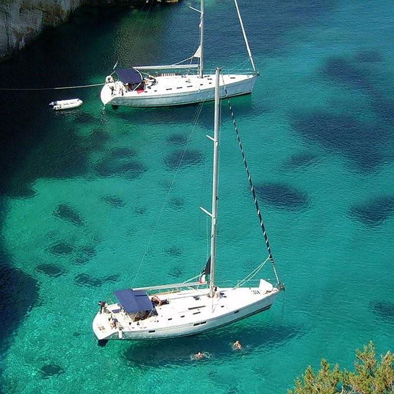 Grecia ionica in barca a vela